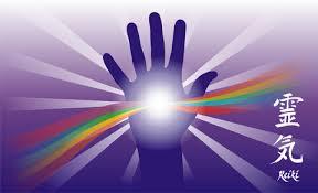 reiki rainbow hand